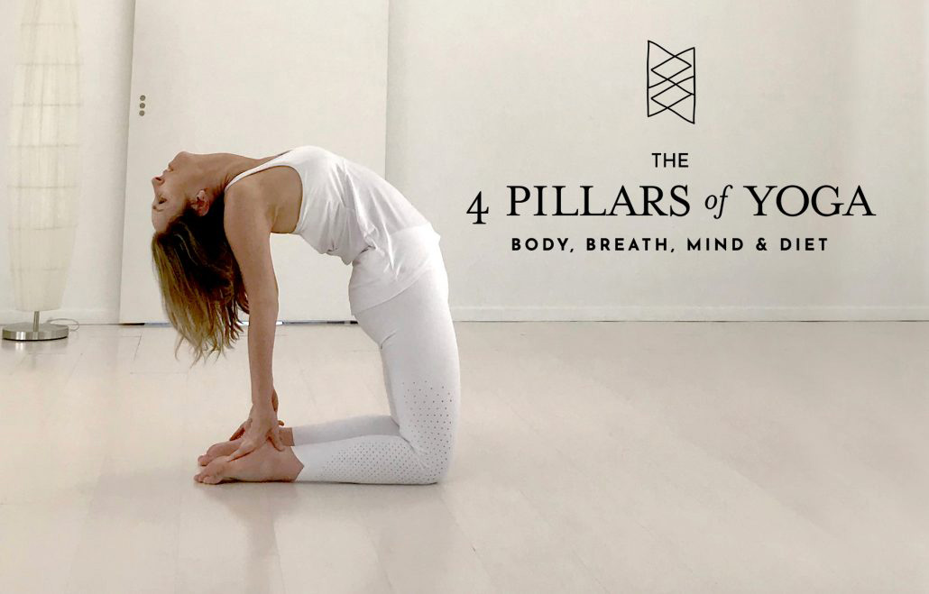 The 4 Pillars of Yoga: Body, Breath, Mind and Diet